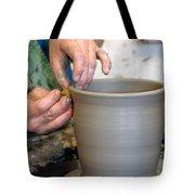 Potters Hands Tote Bag