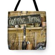 Potting Thyme Tote Bag