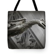 Pouncing Dragon Tote Bag