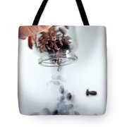 Pouring Out Pills Tote Bag