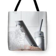 Pouring Water Tote Bag