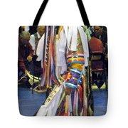 Pow Wow Dancer Tote Bag