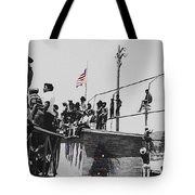 Pow Wow Days July 4th Rodeo Navajos Flagstaff Arizona 1969-2009  Tote Bag