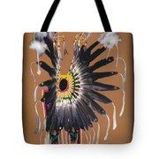 Pow Wow Regalia - Orange Tote Bag