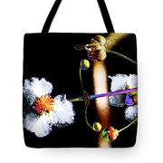 Powder Flower Tote Bag