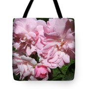 Powder Puff Pink Tote Bag