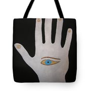 Power Chi Hand Tote Bag