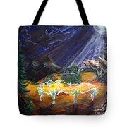 Power Dance Tote Bag