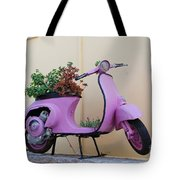 Power Flower Tote Bag