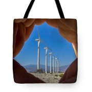 Power In The Hand Tote Bag