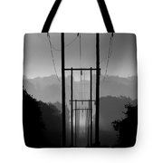 Power In The Morning Mist Tote Bag