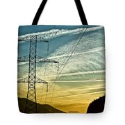 Power In The Sky Tote Bag