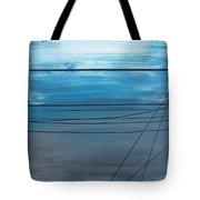 Power Lines 14 Tote Bag