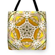 Power Of Gold Tote Bag