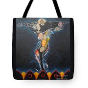 Power Of Man Tote Bag