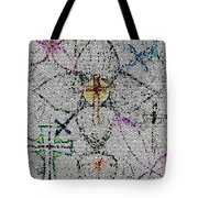 Power Of The Cross Tote Bag