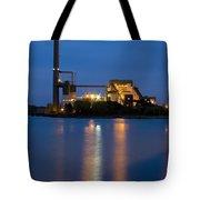 Power Plant Tote Bag by Adam Romanowicz