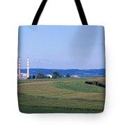 Power Plant Energy Tote Bag
