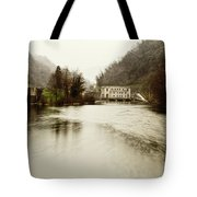 Power Plant On River Tote Bag
