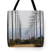 Power Poles  Tote Bag
