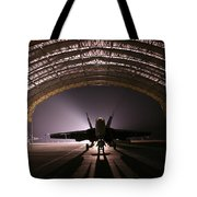 Power Rests At Night Tote Bag
