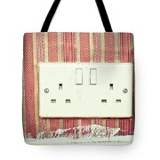 Power Socket Tote Bag