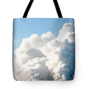 Power Station Plumes. Tote Bag