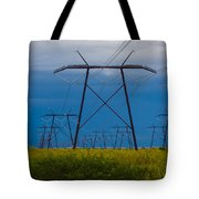 Power Towers Tote Bag