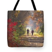 Power Walkers Tote Bag
