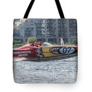 Powerboat 3 Tote Bag