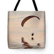 Powered Paraglider Tote Bag