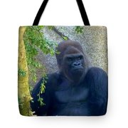 Powerful Female Gorilla Tote Bag