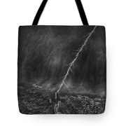 Powerful Message Tote Bag by Douglas Barnard