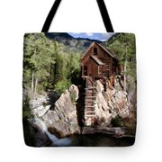 Powerhouse On The Crystal Tote Bag