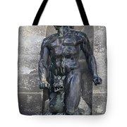 Powerscourt Fountain Sculpture Tote Bag