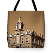 Powhantan Court House Sepia 2 Tote Bag