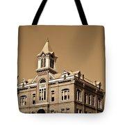 Powhatan Court House Sepia 5 Tote Bag
