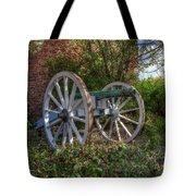 Powis Castle Cannon Tote Bag