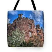 Powis Castle Tote Bag