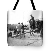 Pows Unload Cabbages For Lunch Tote Bag