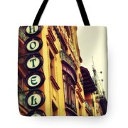 Prague - Hotel Tote Bag
