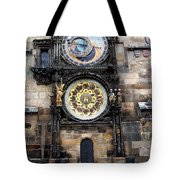 Prague Astronomical Clock Tote Bag