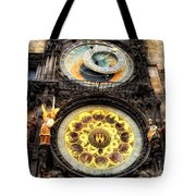 Prague Clock Orloj Tote Bag