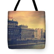 Prague Days Tote Bag by Taylan Apukovska