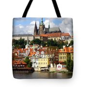 Prague Skyline Tote Bag
