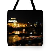 Prague National Theater Tote Bag