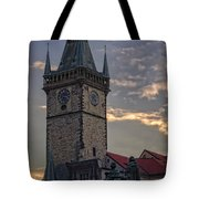 Prague Old Town Hall Tote Bag