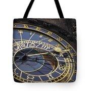 Prague Orloj Tote Bag