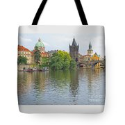 Prague Reflected Tote Bag
