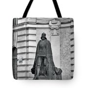 Prague - The Iron Man From A Long Time Ago And A Country Far Far Away Tote Bag
